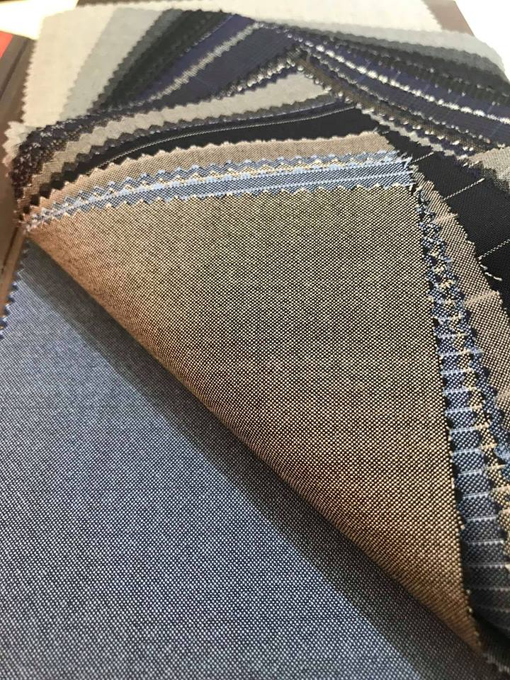 Vải may đồng phục quần tây nam