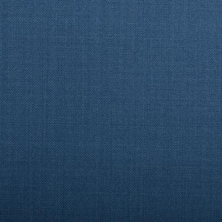 16028 Medium Blue Plain Twill Crystal Super 130